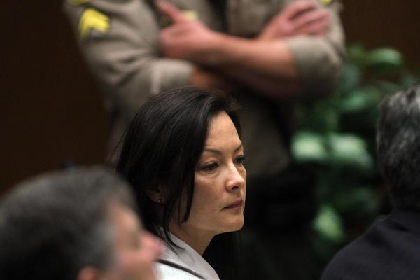Kelly Soo Park listens to opening statements last week in her murder trial.