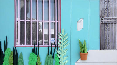 Ana Serrano: Everyday L.A., captured in cardboard and paper