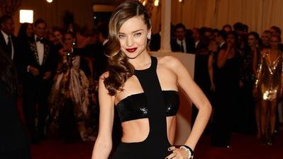 Miranda Kerr's wardrobe malfunction bares much of model