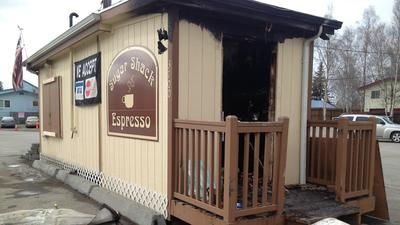 AFD Investigating Fire, Possible Burglary at Midtown Coffee Stand