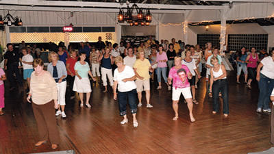 Participants at the previous WAVE Oldies Dance gather in the Windber Recreation Park Ballroom.