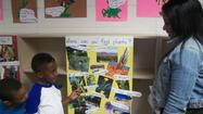 Kindergarten students at Richton Square School participated in the school's first annual Science Fair recently.