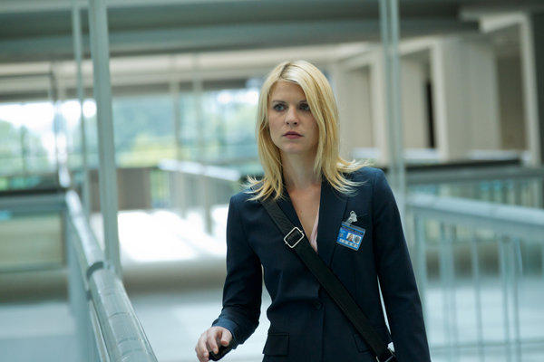 "Claire Danes portrays Carrie Mathison in a scene from the Showtime original series, ""Homeland."""