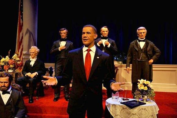 Hall of Presidents at the Magic Kingdom