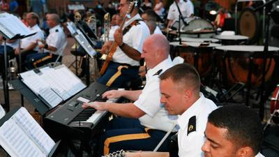 Memorial Day music from TRADOC Band