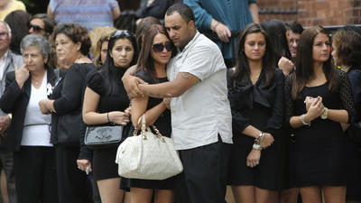 Hundreds attend funeral for Hofstra student shot by police