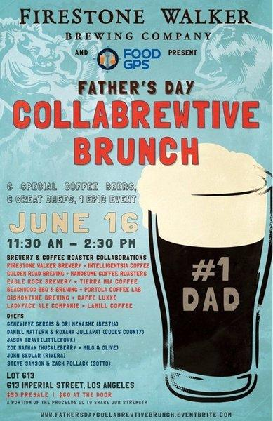 Upcoming events include the Collabrewtive brunch, which teams coffee roasters and breweries.