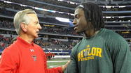 Cincinnati coach Tommy Tuberville was at the American Athletic Conference spring meetings this week and spoke about the future of the new league.
