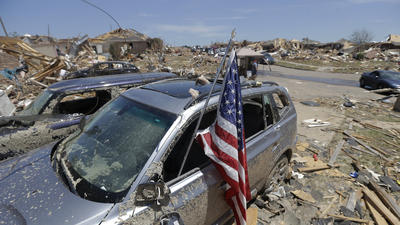 The numbers are staggering, says mayor from tornado-torn Oklahoma