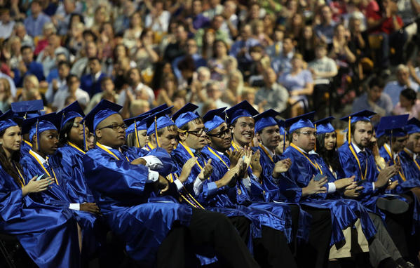 Lyman High School graduation at the UCF Arena, on Wednesday, May 22, 2013. (Ricardo Ramirez Buxeda / Orlando Sentinel) B582933299Z.1