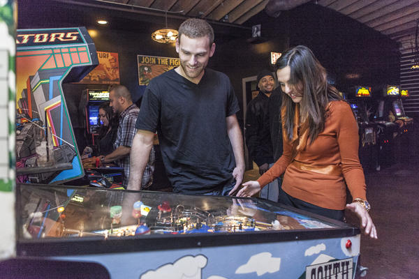 Headquarters has expanded its space to offer 20 new and vintage pinball machines.
