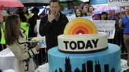 Toned down 'Today Show' hits Chicago