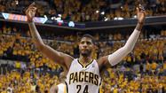 For Indiana's Paul George, the Eastern Conference finals are all about opportunities.