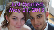 Mr. and Mrs Kristen and Efrain Albino Married May 21, 2013