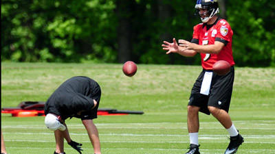Same ol' Flacco but a different Ravens' team prepares for 2013