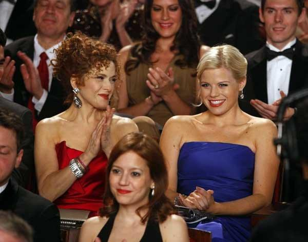 "Bernadette Peters, left, and Megan Hilty in ""Smash"" on NBC."