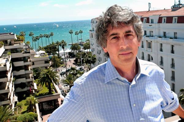 "Alexander Payne, director of the film ""Nebraska, "" in Cannes."