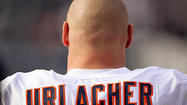 There will be no purple smudge on the accomplishments of Brian Urlacher. The sight of him with some sort of cat or bird on his helmet never will make anyone wince. He will not have that moment when he makes us recall Willie Mays with the Mets.