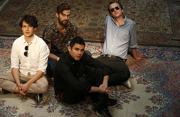 "Vampire Weekend's new album, ""Modern Vampires of the City,"" has debuted at No. 1 on the Billboard 200."