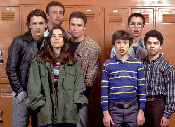 "The cast of ""Freaks and Geeks"": Are they too expensive to reunite? (NBC-TV)"