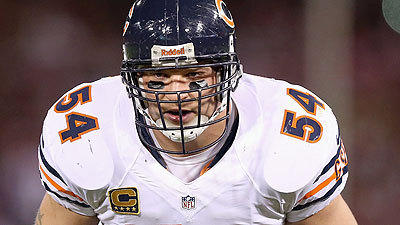 Urlacher retires: 'I didn't want to play for anybody else'