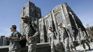 WASHINGTON (Reuters) - An Army sergeant at the Military Academy has been accused of videotaping female cadets in the showers a West Point, a defense official said on Wednesday, the latest in a series of sex-related incidents that has rocked the armed forces.