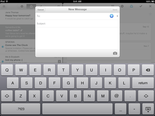 Mailbox has a new app for the iPad.