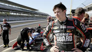 It was two years ago that IndyCar driver JR Hildebrand made a career-defining move at the Brickyard. But it's not the one you think.