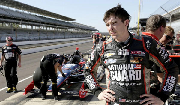 In JR Hildebrand's first appearance at the Indy 500, the rookie driver was the race leader entering the final turn when he put his car into the wall.