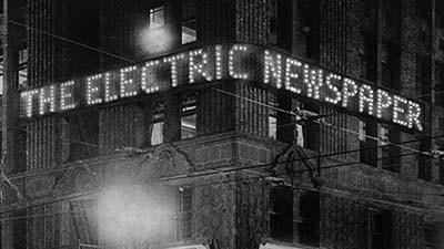 From the Archive: The Times-Richfield 'Electric Newspaper'