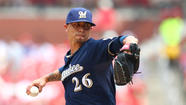Brewers' Kyle Lohse to miss a start