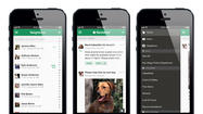 The Nextdoor app for iPhone and iPod Touch
