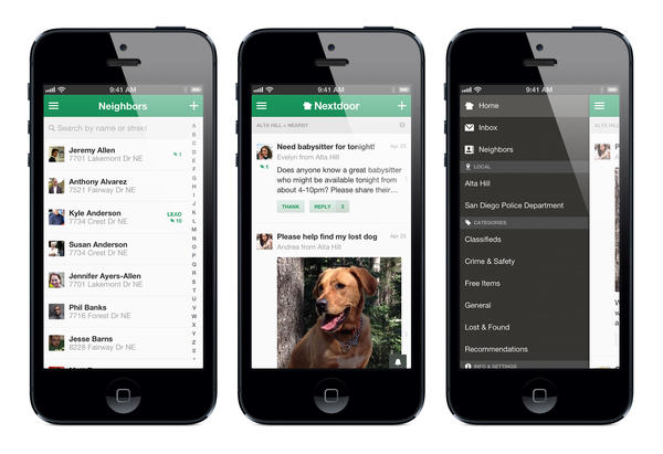 Nextdoor is like Facebook but for neighbors: a private network to find a baby sitter, borrow a cup of sugar, organize a block party or spread word of a break-in.