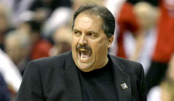 Stan Van Gundy  coached Dwight Howard when they were with the Orlando Magic.