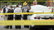 Two men were found dead inside a car Wednesday afternoon in Chicago's West Englewood neighborhood.
