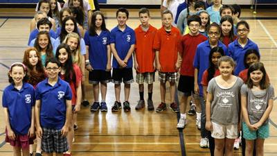 Wilmette school poised to claim Guinness record on twins