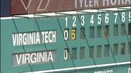 Virginia and Virginia Tech took their baseball rivalry to Durham for the first ACC Tournament meeting between the two schools on Wednesday.