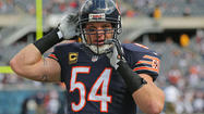 Typical of how a giddy little brother of a probable Hall of Fame middle linebacker would react, Casey Urlacher couldn't stop gushing over Brian Urlacher's endless accomplishments in 13 NFL seasons.