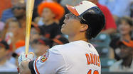 "After going 4-for-4 with a two-run homer in <a href=""http://www.baltimoresun.com/sports/orioles/bal-orioles-beat-yankees-20130522,0,317453.story"" target=""_blank"">Wednesday's series clincher against the New York Yankees</a>, Orioles first baseman Chris Davis is officially hot again."