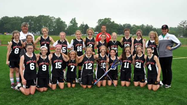 The Maryland and District of Columbia Lacrosse Club Lazers finished with a clean sweep of all of the brackets in the National Premier Youth Girls Lacrosse League spring season.