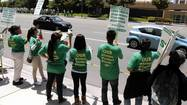 As University of California patient care workers returned to the picket lines Wednesday, hospital administrators said they were gratified that so many others chose to come to work.