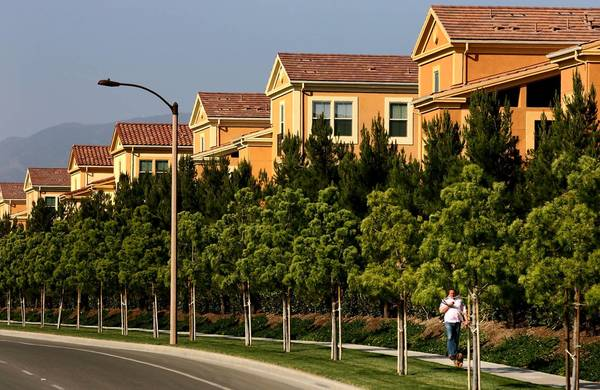 More than 1,400 new homes were sold last year in Irvine Co. developments and 774 were sold the year before, according to the company.