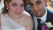 Kristen Warpinski and Efrain Albino both of Niles, IL were married Tuesday, May 21, 2013 at Pine Manor a private venue located in the Arlington Heights / Mt Prospect NW Suburban area. The couple had an intimate ceremony surrounded by their family and friends. Both the Mother of the groom and bride walked their children down the white carpet in a 1:30pm garden ceremony. The bride wore a beautiful white gown off one shoulder and carried a lavender and white rose bouquet. The groom was dressed in a tailored black suite with lavender ascents. The couple is expecting their first child (a daughter) soon and excited to welcome her into the world. The wedding was a gift from the bride's mother, Carol Warpinski.