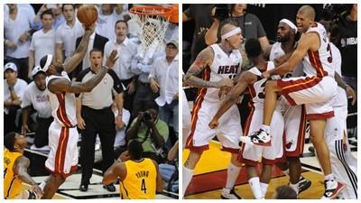 LeBron saves the Heat's night