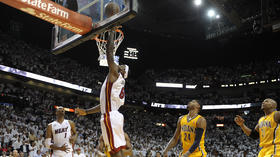 LeBron, Heat survive opener against Pacers 103-102 in OT