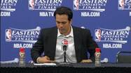 Video: Heat's Spoelstra, 'Welcome to the Eastern Finals'