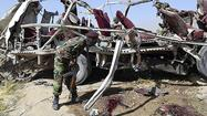 ISLAMABAD (Reuters) - A roadside bomb killed 11 security personnel and two civilians on Thursday in southwestern Pakistan where separatist rebels have for decades been battling to control the region's natural gas and other resources.