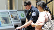 CALEXICO — U.S. Customs and Border Protection officials are already reporting shorter border wait times for pedestrians utilizing the six newly installed Ready lane kiosks at the Calexico downtown Port of Entry.