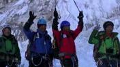Raw video: 80-Year-Old Climbs Mount Everest