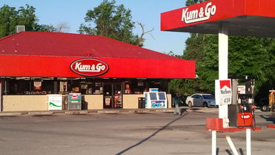 Convenience store customer stops early-morning armed robbery
